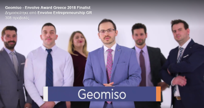 Vote Geomiso! Envolve Award Greece 2018