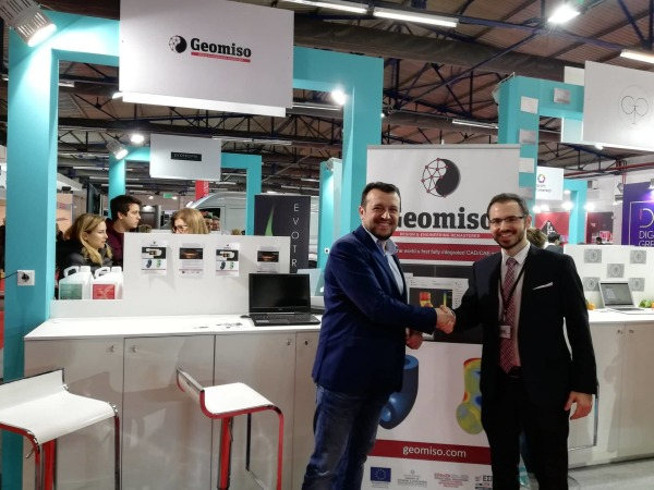 Geomiso, Infacoma Athens 2019 και Minister
